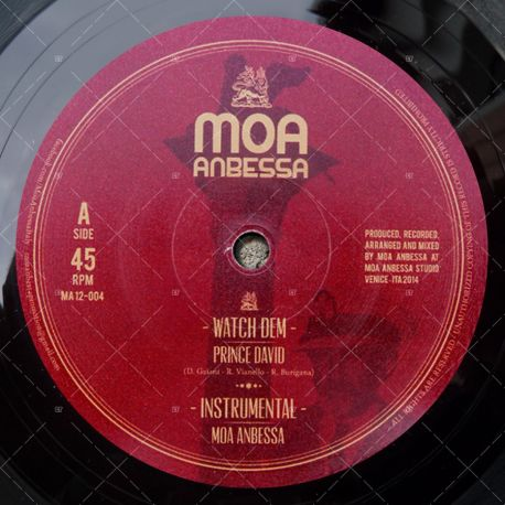 "MA12-004 - Moa Anbessa - Prince David - Watch Dem (12"")"