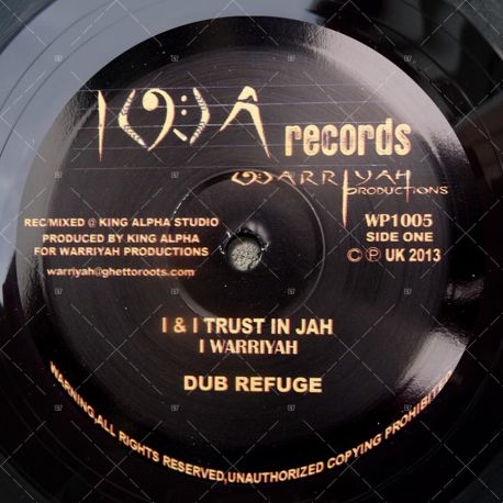 I Warryah - I&I Trust In Jah