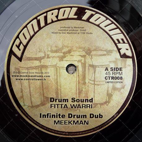 "CTR009 - Control Tower Records - Fitta Warri - Drum Sound (12"")"