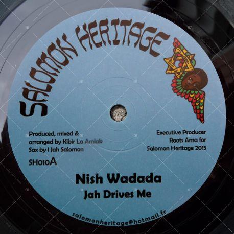 "SH010 Salomon Heritage - Nish Wadada - Jah Drives Me (12"")"