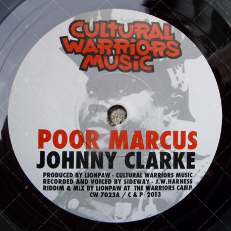Johnny Clarke - Poor Marcus