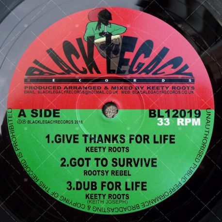 Keety Roots - Give Thanks For Life