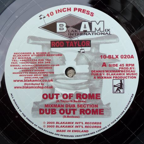 Rod Taylor - Out Of Rome
