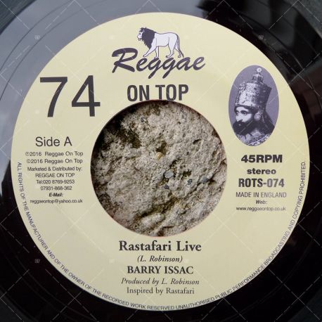 Barry Issac - Rastafari Live