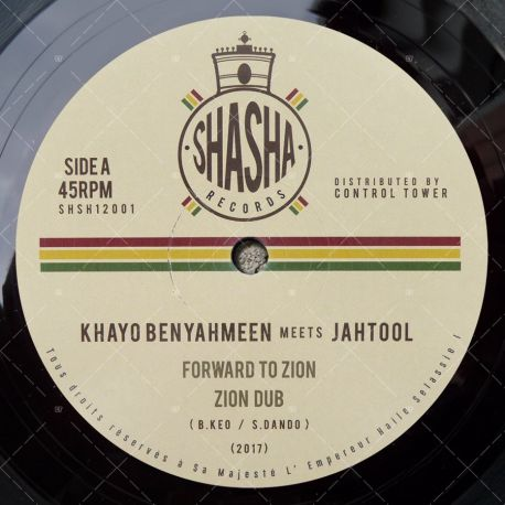 Khayo Benyahmeen meets Jah Tool - Forward To Zion