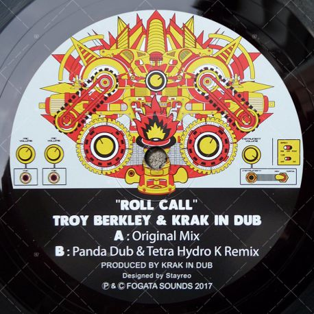 Troy Berkley & Krak In Dub - Roll Call
