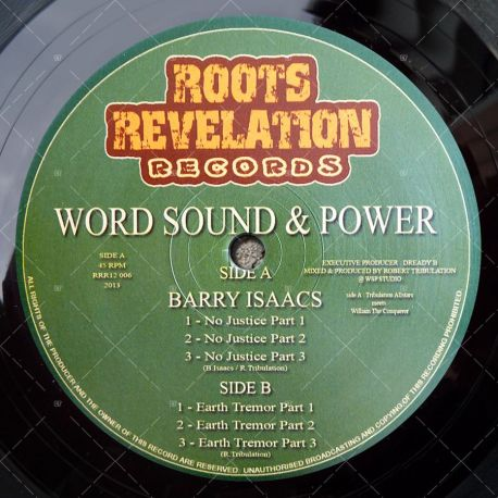 Word Sound & Power meets Barry Isaacs - No Justice