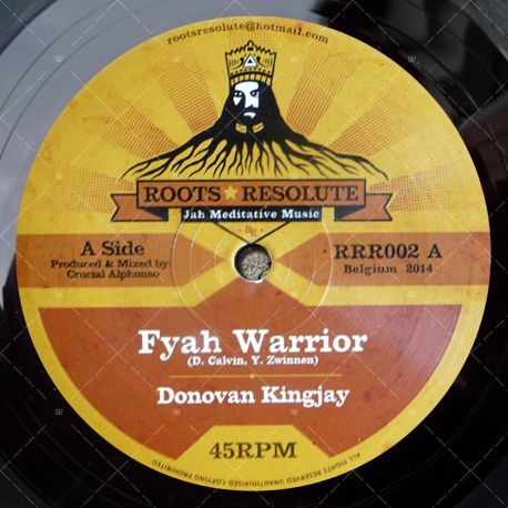 Donovan Kingjay - Fyah Warrior