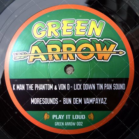 K Man The Phantom & Von D - Lick Down Tin Pan Sound