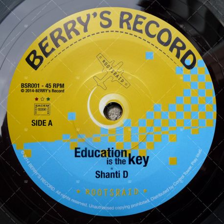 Shanti D - Education Is The Key