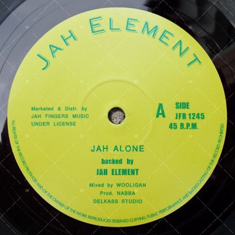 Jah Element - Jah Alone / Summer Time
