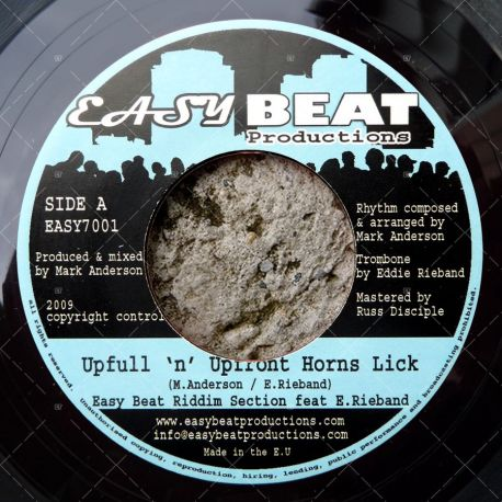 Easy Beat Riddim Section feat. Ed Rieband - Upfull n' Upfront Horns Lick