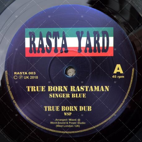 Singer Blue - True Born Rastaman