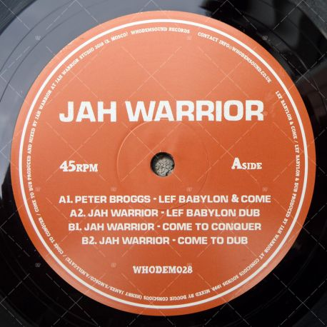Jah Warrior feat. Peter Broggs - Lef Babylon & Come