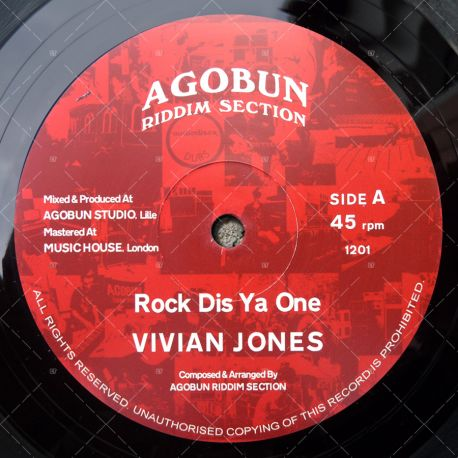 Vivian Jones - Rock Dis Ya One