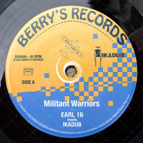 Earl 16 meets Ikadub - Militant Warriors