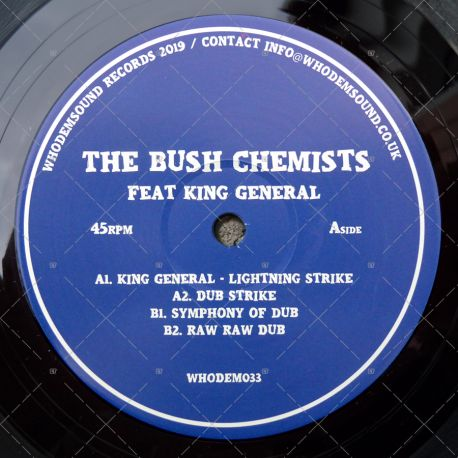 The Bush Chemists feat. King General - Lightning Strike