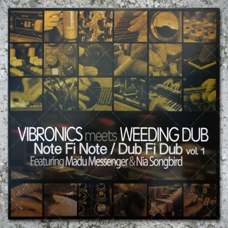 Vibronics meets Weeding Dub - Note Fi Note / Dub Fi Dub vol.1