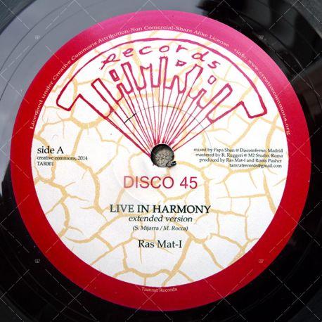Ras Mat-I - Live In Harmony