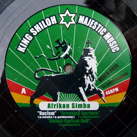 Afrikan Simba - Racism / Have No Fear
