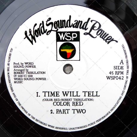 Color Red - Time Will Tell