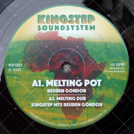 Kingstep meets Reuben Gondor - Melting Pot