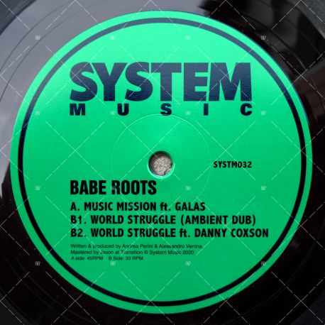 Babe Roots feat. Galas - Music Mission
