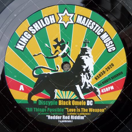 Discyple - All Things Possible / Black Omolo - Love Is The Weapon