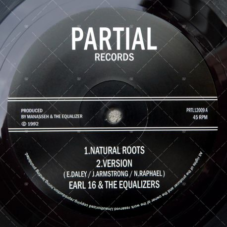 Earl 16 & The Equalizers - Natural Roots