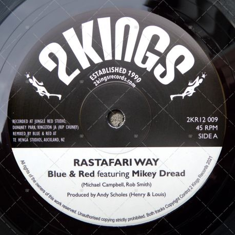 Blue & Red feat. Mikey Dread - Rastafari Way