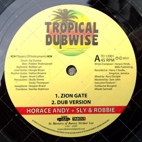 Horace Andy meets Sly & Robbie - Zion Gate