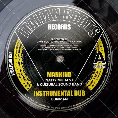 Natty Militant & Cultural Sound Band - Mankind