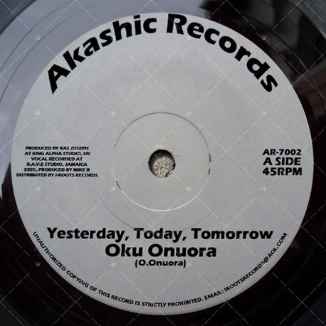 Oku Onuora - Yesterday, Today, Tomorrow
